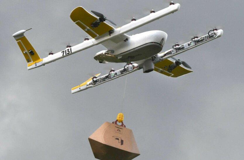 Доставка товаров дронами
