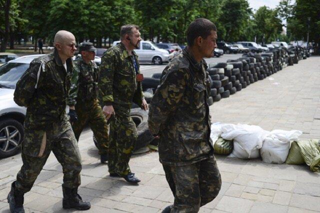 Украинцы в плену ДНР ЛНР