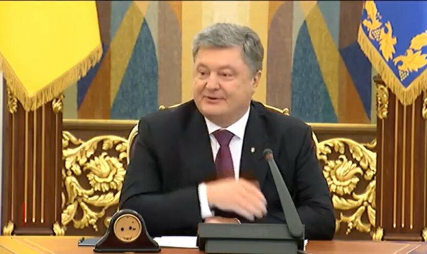 Петр Порошенко, пленки Порошенко-Байдена, Слуги народа