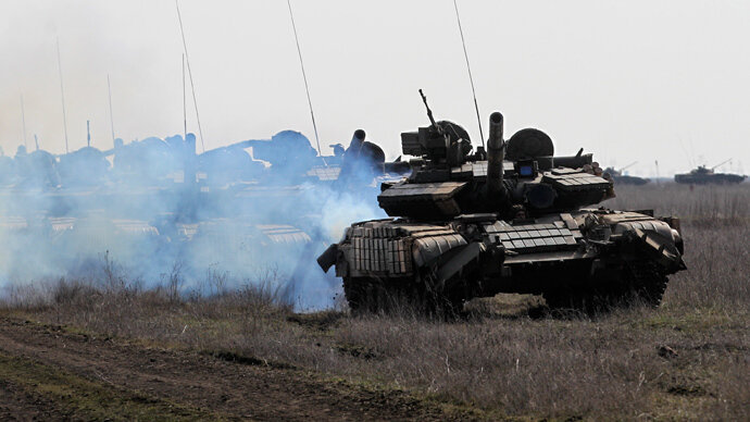 Украинские танки Т-64 Оплот