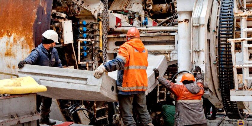 Строительство метро в Киеве