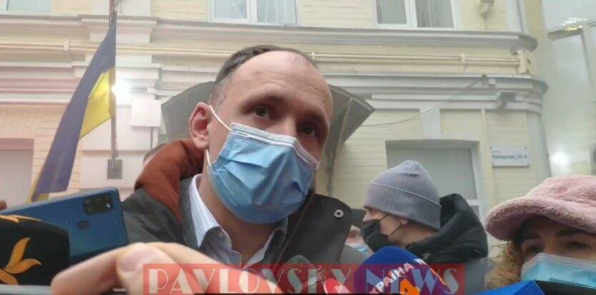 Олег Татаров, заседание суда, дымовые шашки