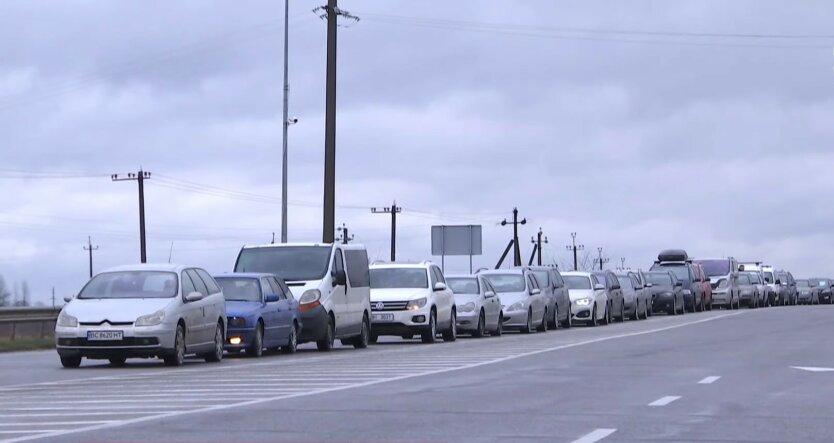 Въезд автомобилей, Украина, приднестровские номера