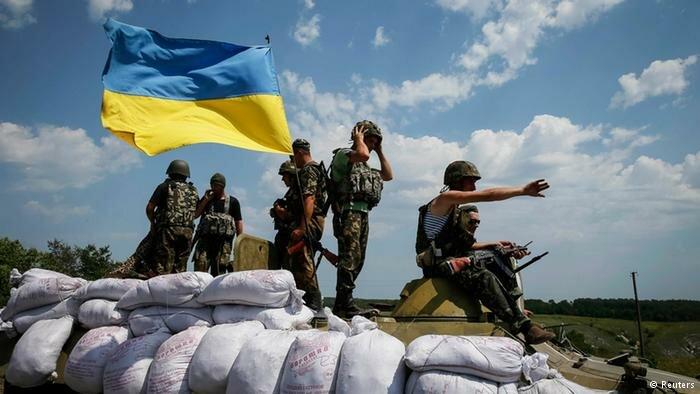 украинская армия на востоке Украины