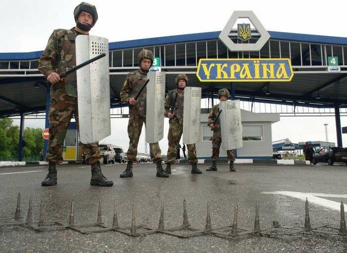 граница украина рф