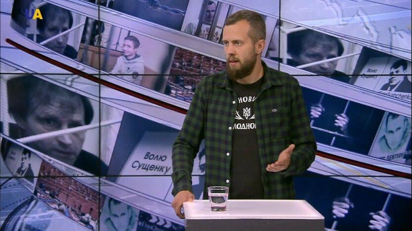 Назарий Кравченко, батальон азов, андрей билецкий