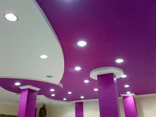 Советы по установке подвесного потолка