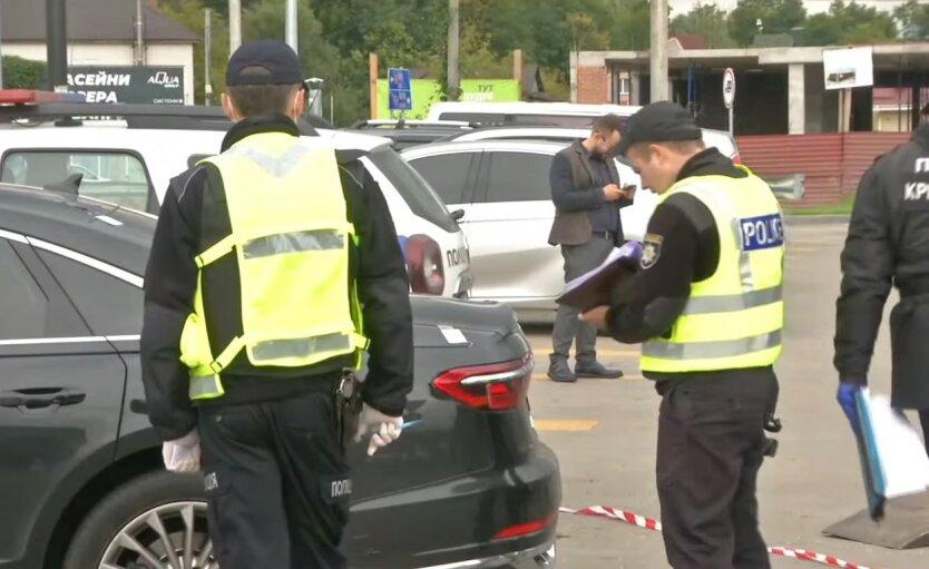 Правоохранители, покушение на Шефира, труп вблизи места напедения на помощника Зеленского