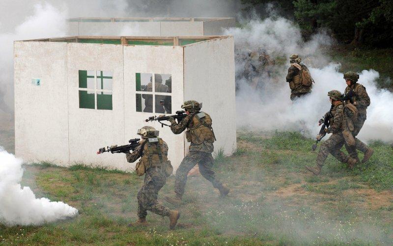 военные учения яворовский полигон