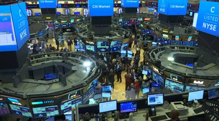 обвал фондовой биржи