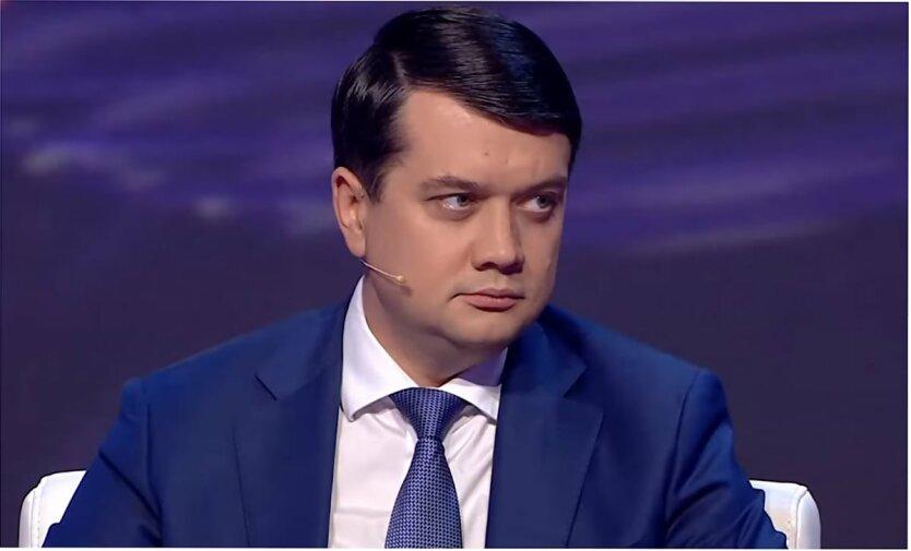 Дмитрий Разумков, Санкционный список, Санкции против России