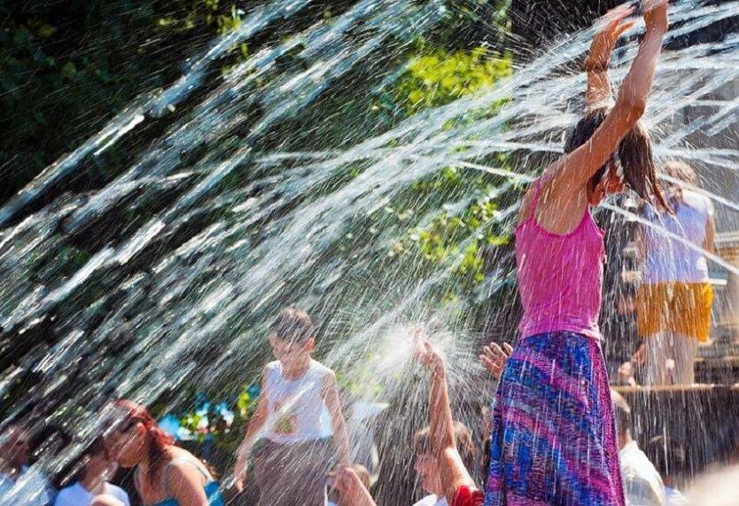 Лето в Украине, синоптик, адская жара и холод