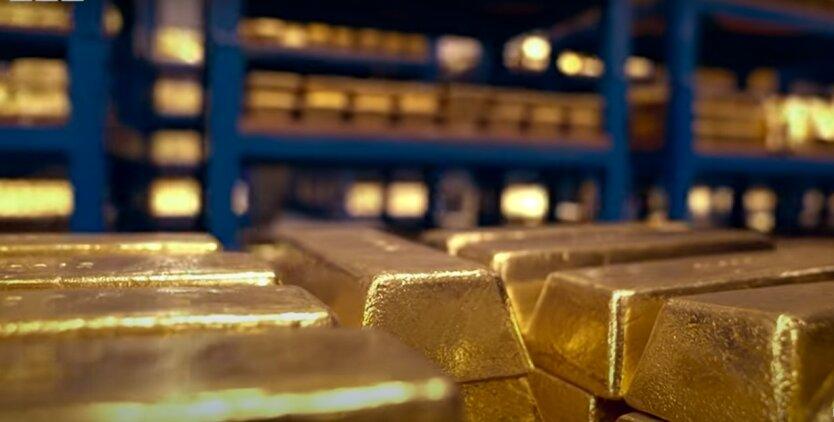 Золото в Банке Англии