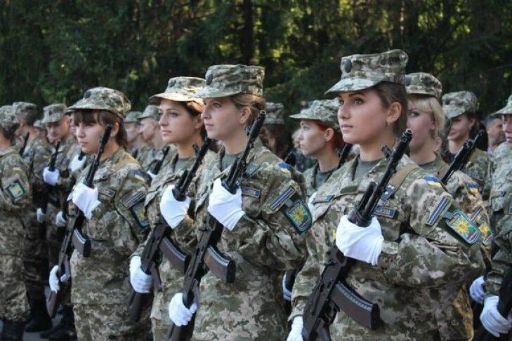 женщины в ВСУ