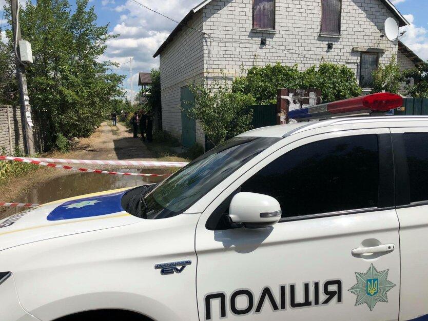 """Задержание """"полтавского террориста"""", полковник полиции, фото из АТО"""