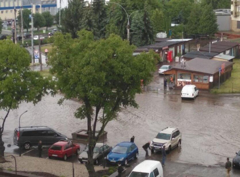 Непогода в Черновцах