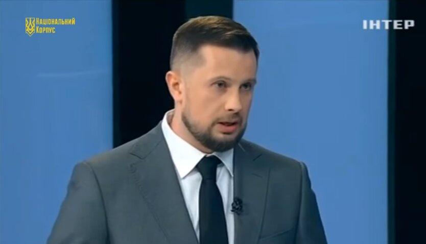 Андрей Билецкий, Национальный корпус
