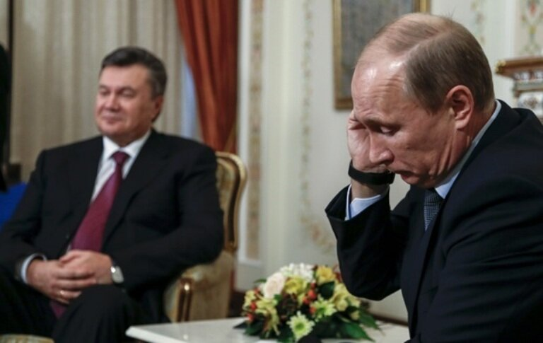 Путин_Янукович