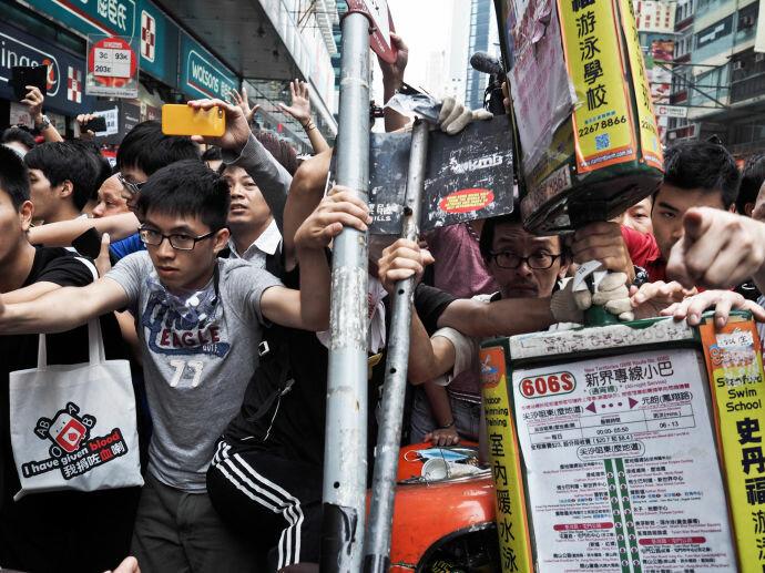 Простесты в Гонконге