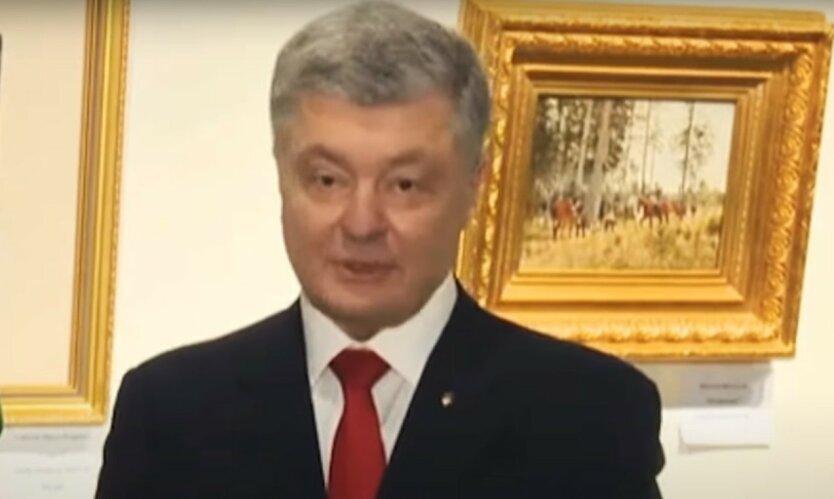 Лещенко раскрыл схему Порошенко с картинами