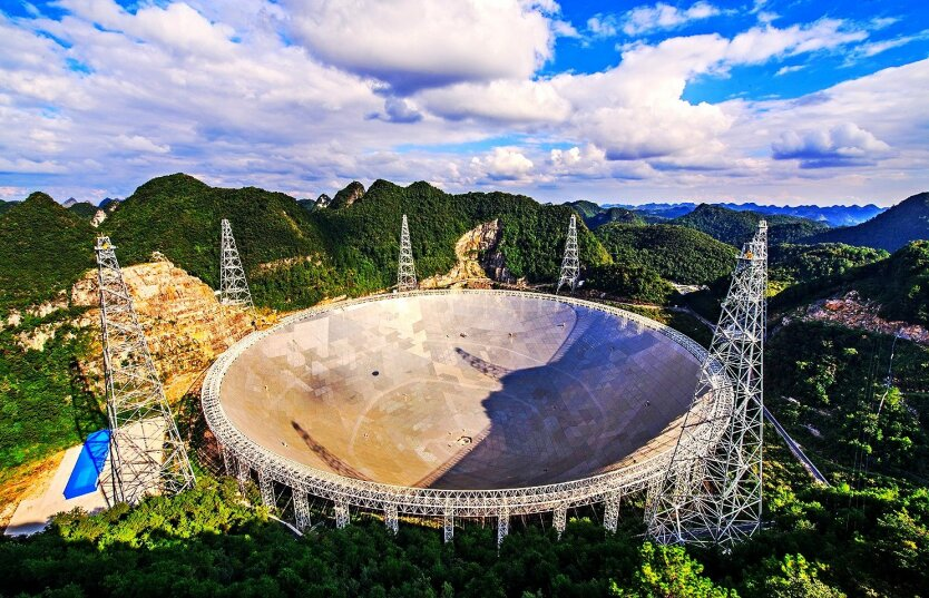 Five hundred meter Aperture Spherical Telescope (????????????) — China 01