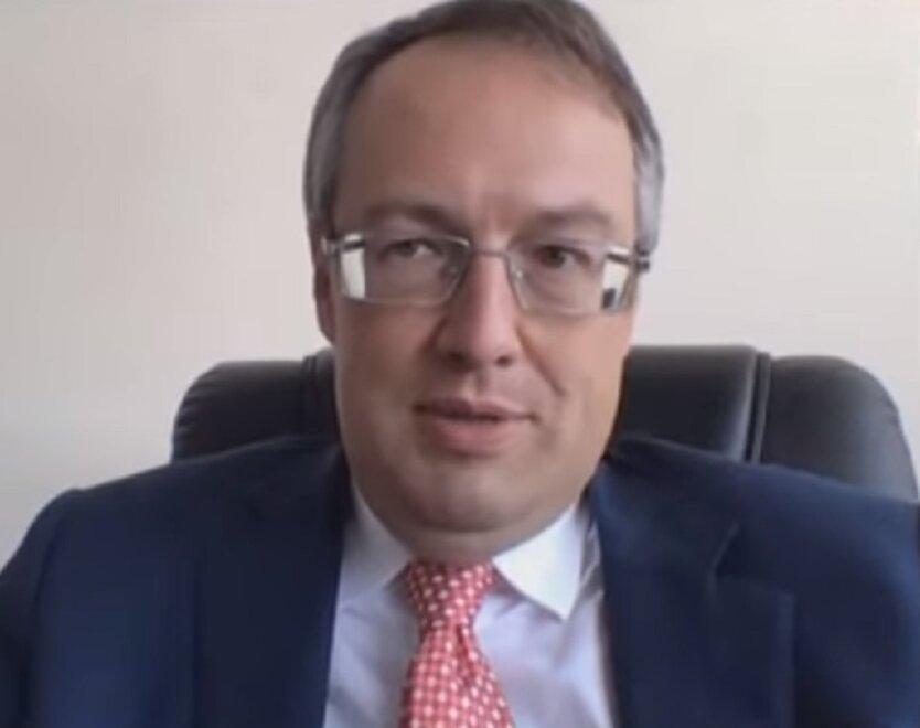 Заместитель министра внутренних дел Антон Геращенко