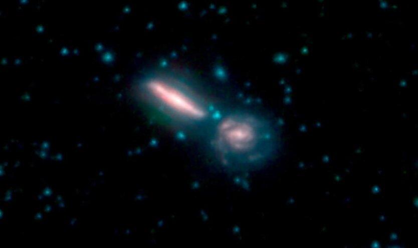 галактики слияние