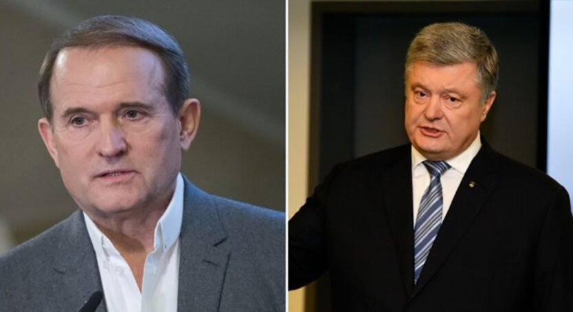 Петр Порошенко и Виктор Медведчук