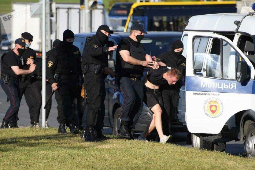 Задержания, протесты, Минск