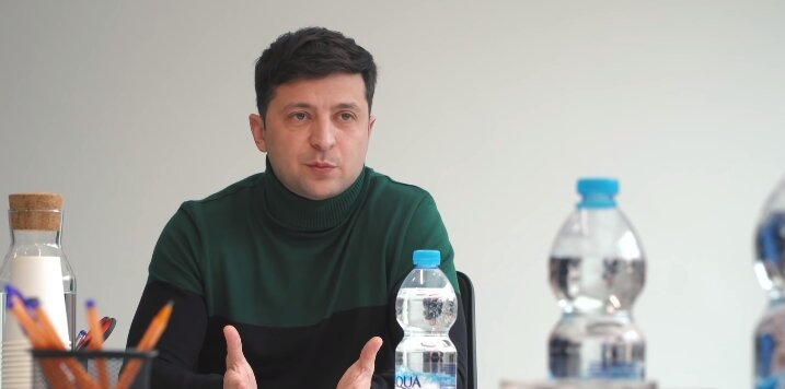 журналисты зеленский