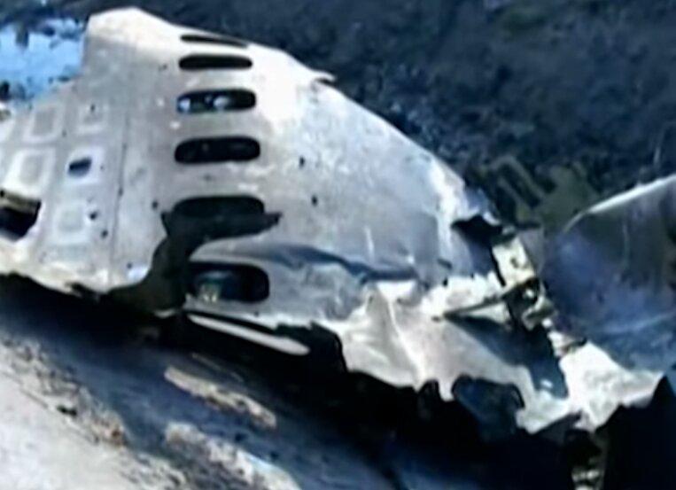 самолет сбили силы ПВО Ирана