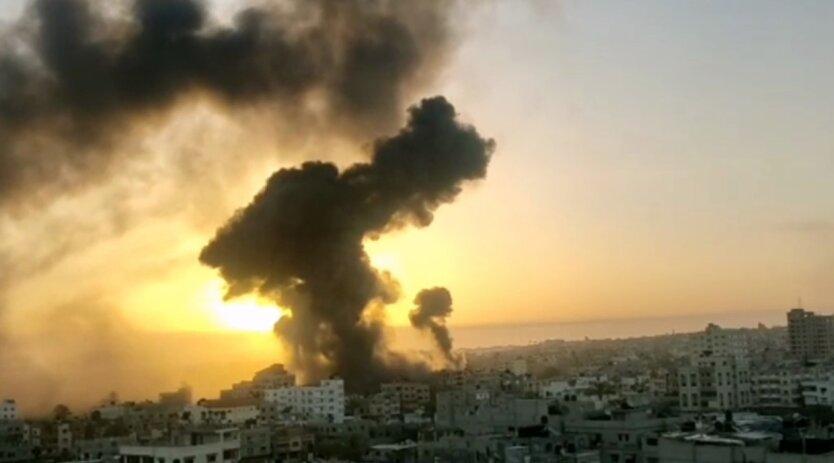 Ракетные удары, Израиль, Палестина