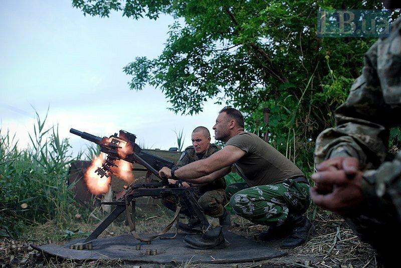 пулемет ВСУ 95 бригада