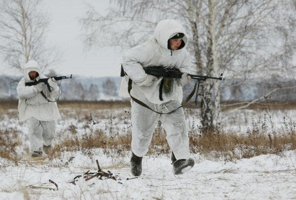 война зимой
