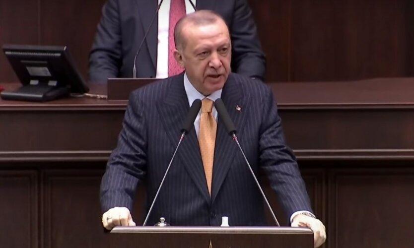 Война в Нагорном Карабахе,Война Армении с Азербайджаном,Реджеп Тайип Эрдоган