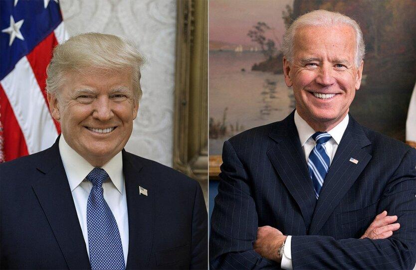 Джо Байден и Дональд Трамп