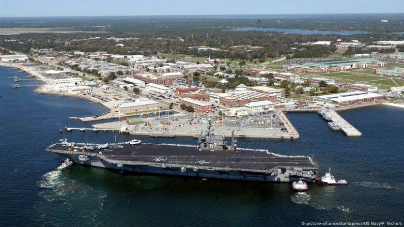 база ВМС США во Флориде