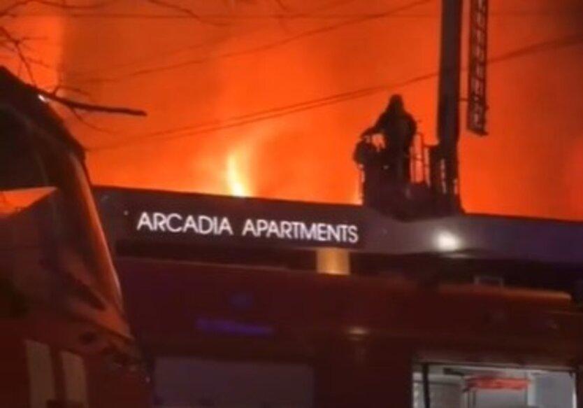 Пожар в Sun City Arcadia Apartments