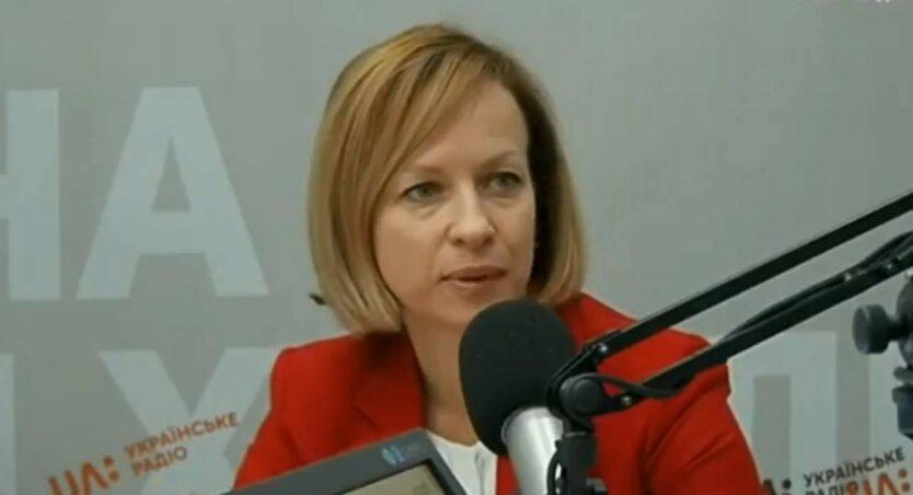 Марина Лазебная, пенсии в Украине, повышение пенсий