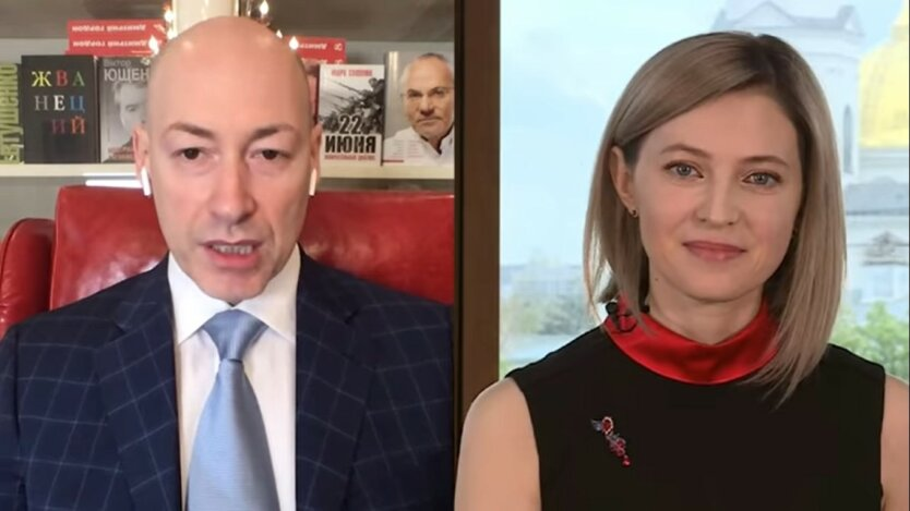 Наталья Поклонская и Дмитрий Гордон, интервью аннексия Крыма