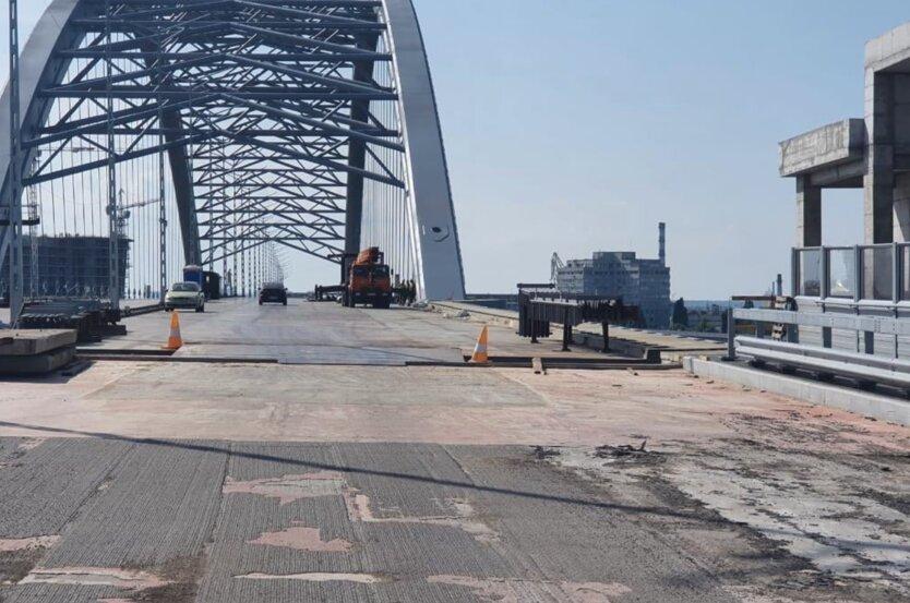 Строительство Подольского моста
