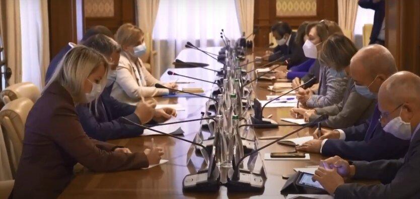 Заседание ТКГ по Донбассу
