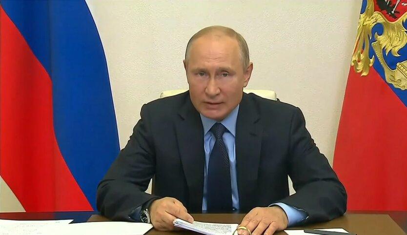 Владимир Путин, уступки по Донбассу, война на донбассе, санкции против россии