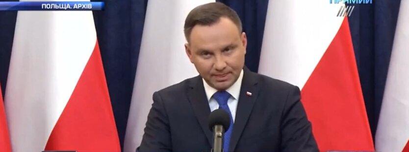 Анджей Дуда, выборы президента Польши, экзит-пол