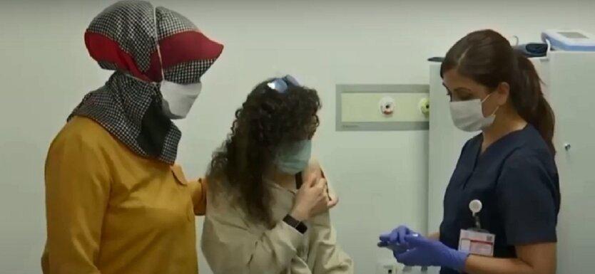 Вакцинация от коронавируса в Турции