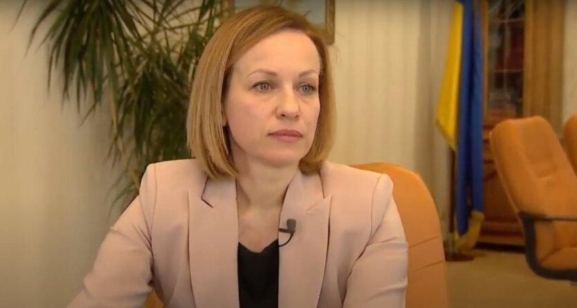 Марина Лазебная,Минсоцполитики Украины,пенсионеры Украины,надбавки к пенсии