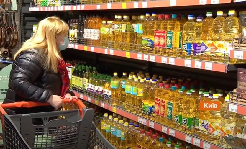 Цены на подсолнечное масло