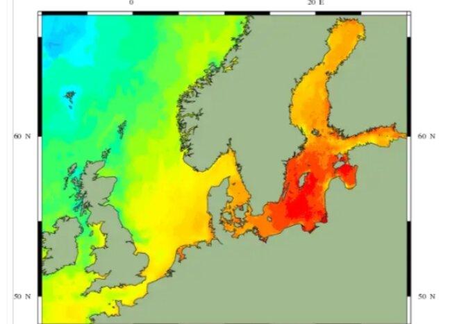 океаны тепло