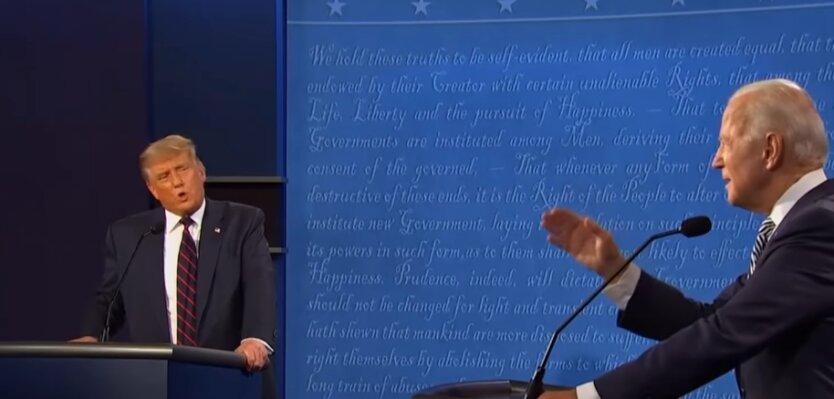 Дональд Трамп, Джо Байден, выборы, США