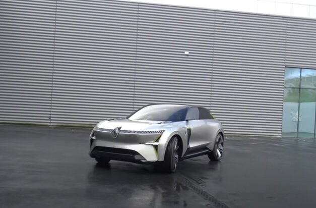 Электрокар Renault